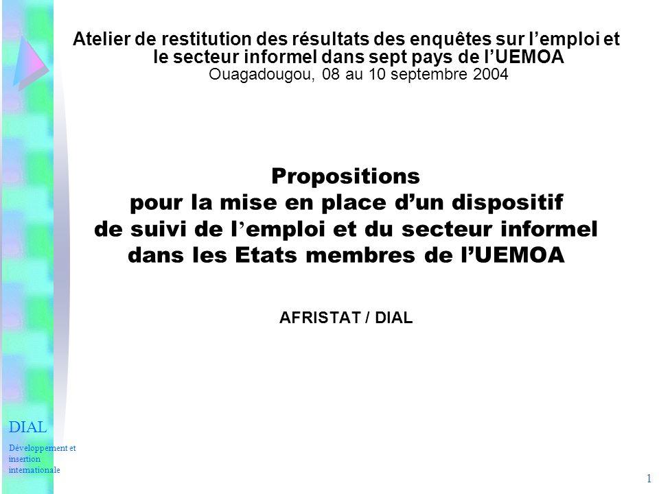 2 PLAN DE LEXPOSE I.CONTEXTE II. RAPPEL DU DISPOSITIF DE PARSTAT III.