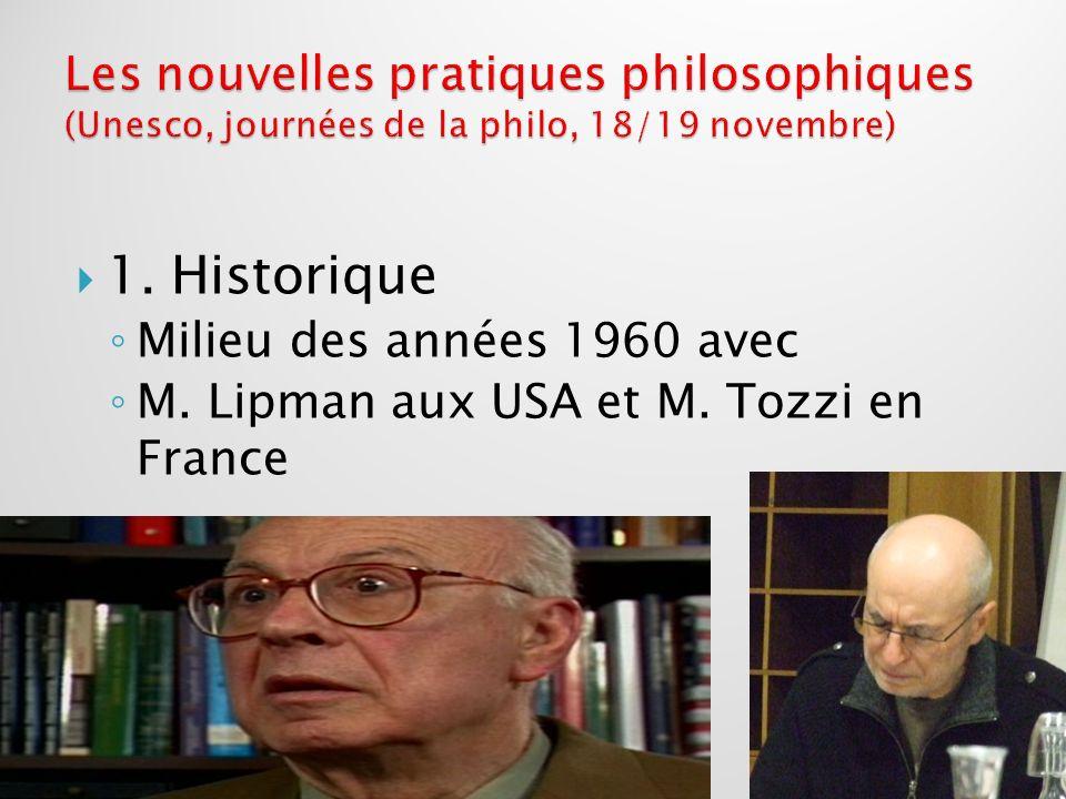 Avant-propos : principes de base Un cours centré sur la didactique du philosopher davantage que sur lhistoire de la philosophie.