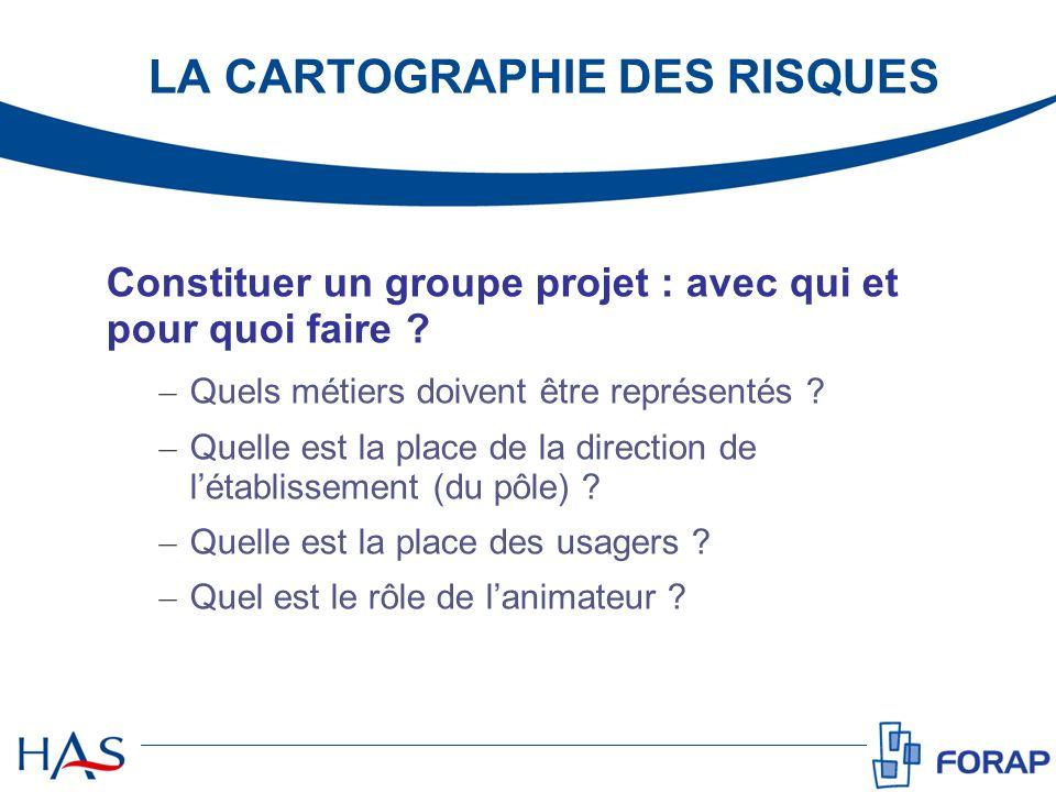 Constituer un groupe projet : avec qui et pour quoi faire ? – Quels métiers doivent être représentés ? – Quelle est la place de la direction de létabl