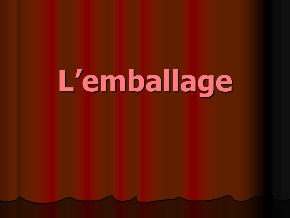 Lemballage