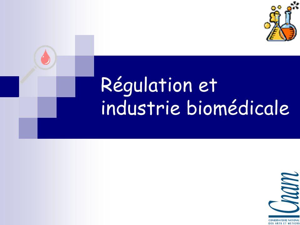 Régulation et industrie biomédicale