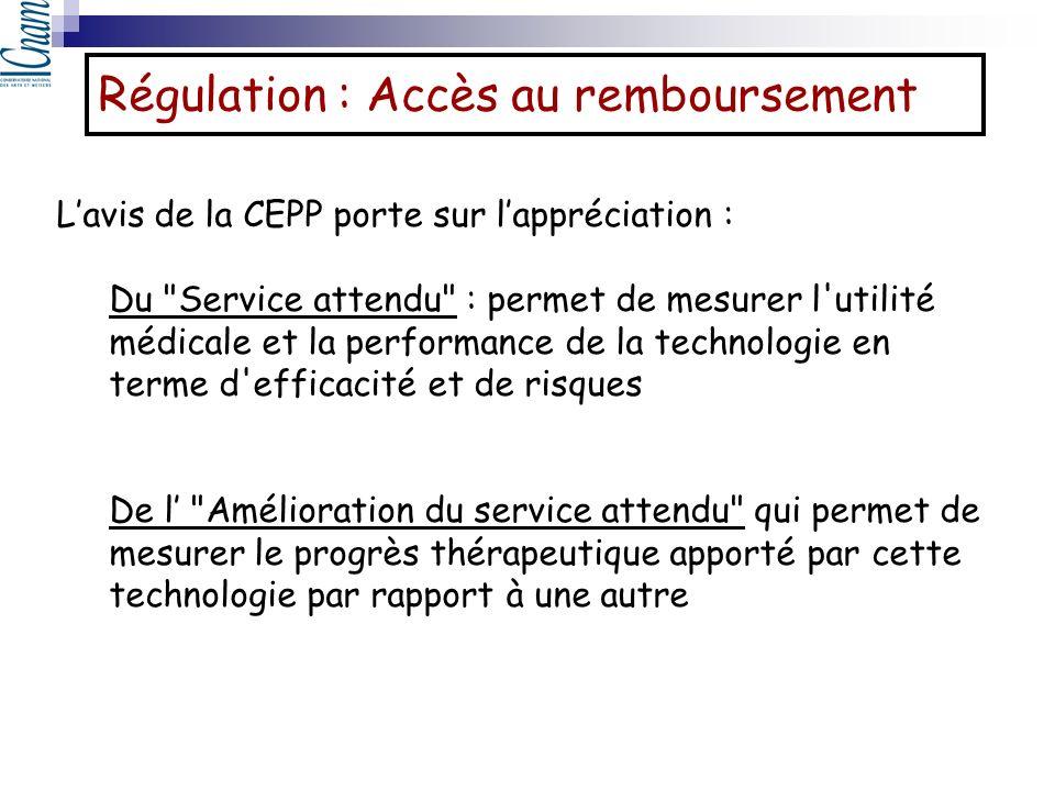 Lavis de la CEPP porte sur lappréciation : Du