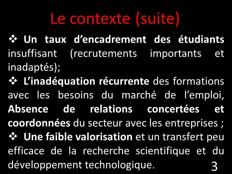 Les étudiants Ecole doctorale Mobilité Stages en Algérie Mobilités vers létranger (mémoires de Master) 14