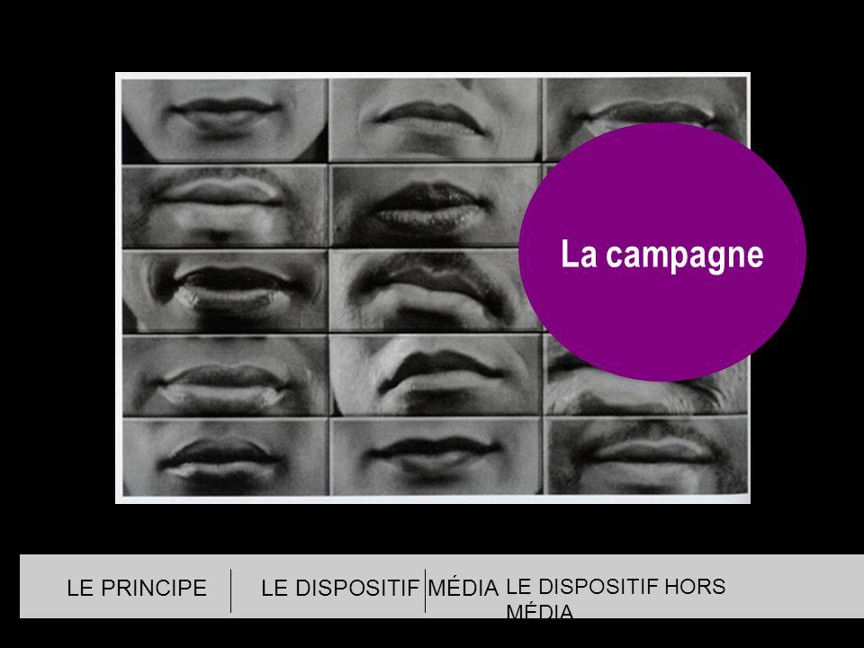 LE PRINCIPELE DISPOSITIF MÉDIA LE DISPOSITIF HORS MÉDIA La campagne