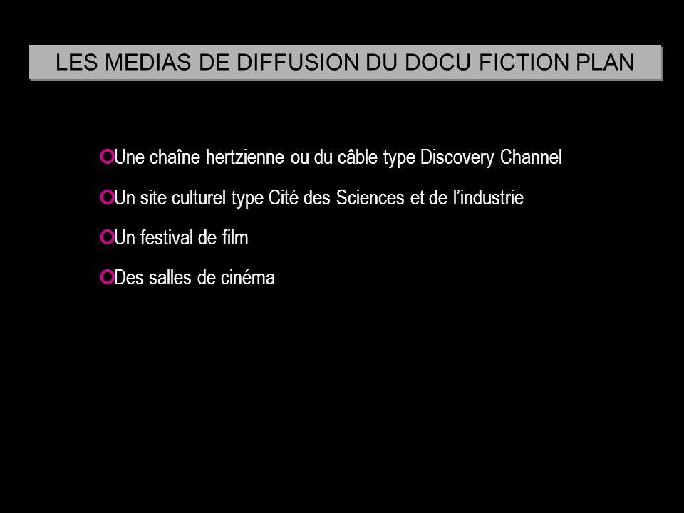 Une chaîne hertzienne ou du câble type Discovery Channel Un site culturel type Cité des Sciences et de lindustrie Un festival de film Des salles de ci
