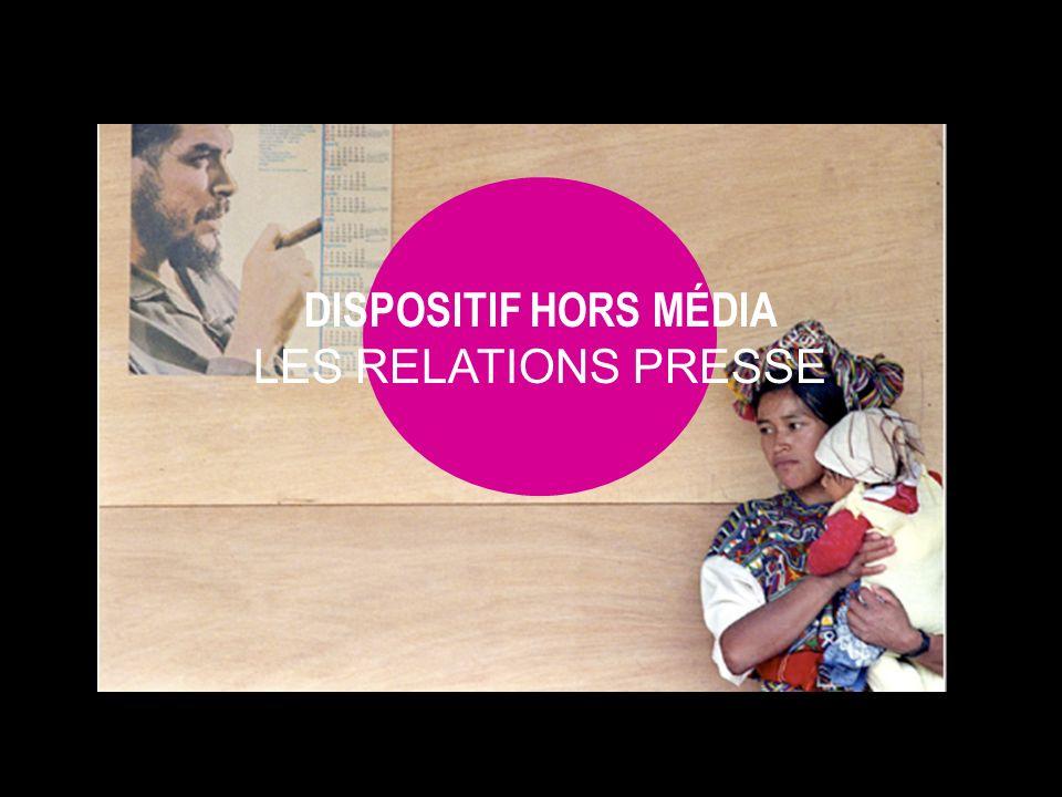 DISPOSITIF HORS MÉDIA LES RELATIONS PRESSE