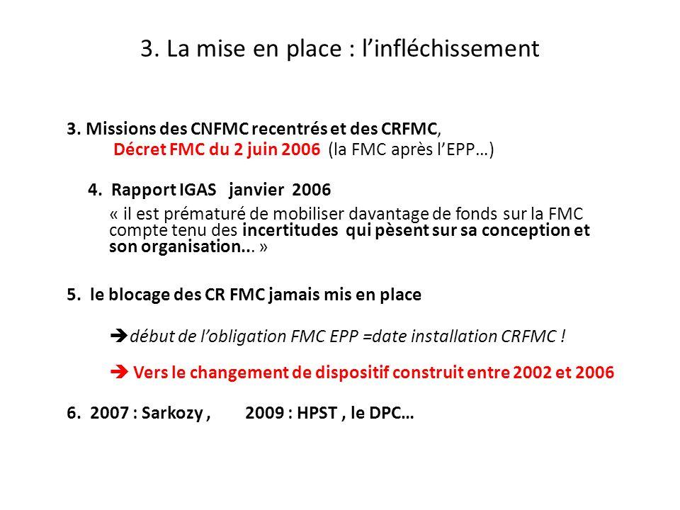 Objectifs du changement du Dispositif DPC 1.