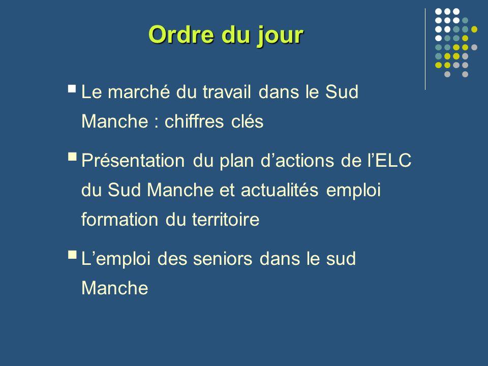 LE MARCHÉ DU TRAVAIL DANS LE SUD MANCHE : CHIFFRES CLES