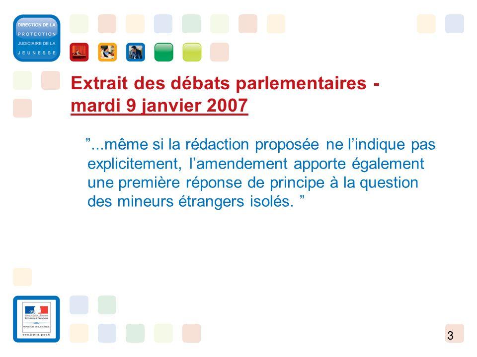 3 Extrait des débats parlementaires - mardi 9 janvier 2007...même si la rédaction proposée ne lindique pas explicitement, lamendement apporte égalemen