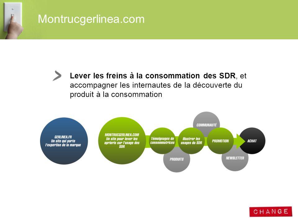 Lever les freins à la consommation des SDR, et accompagner les internautes de la découverte du produit à la consommation Montrucgerlinea.com