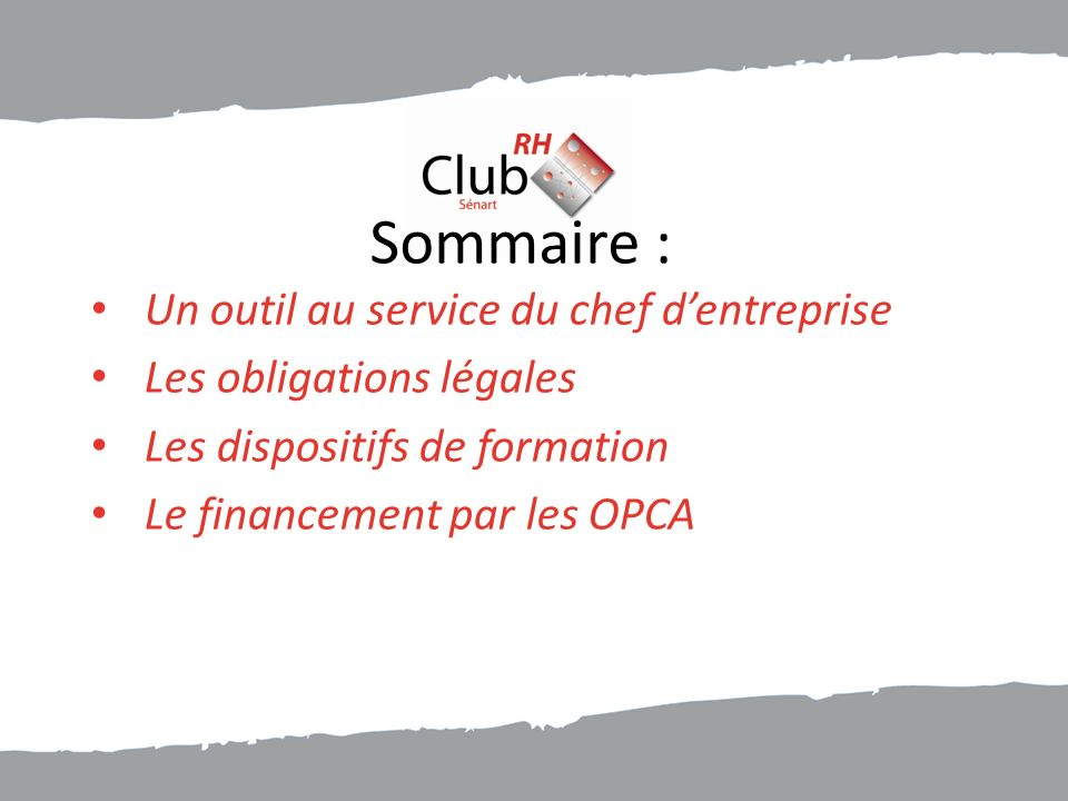 Démarches auprès dun OPCA Quelques exemples de politiques et barèmes de financement des OPCA :