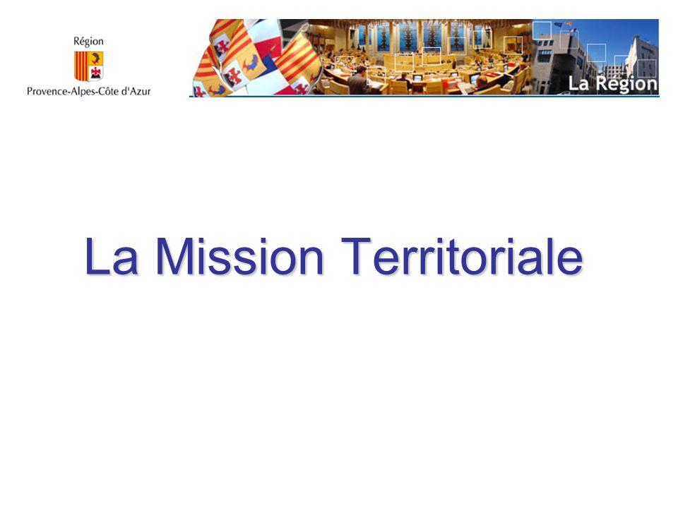 La Mission Territoriale