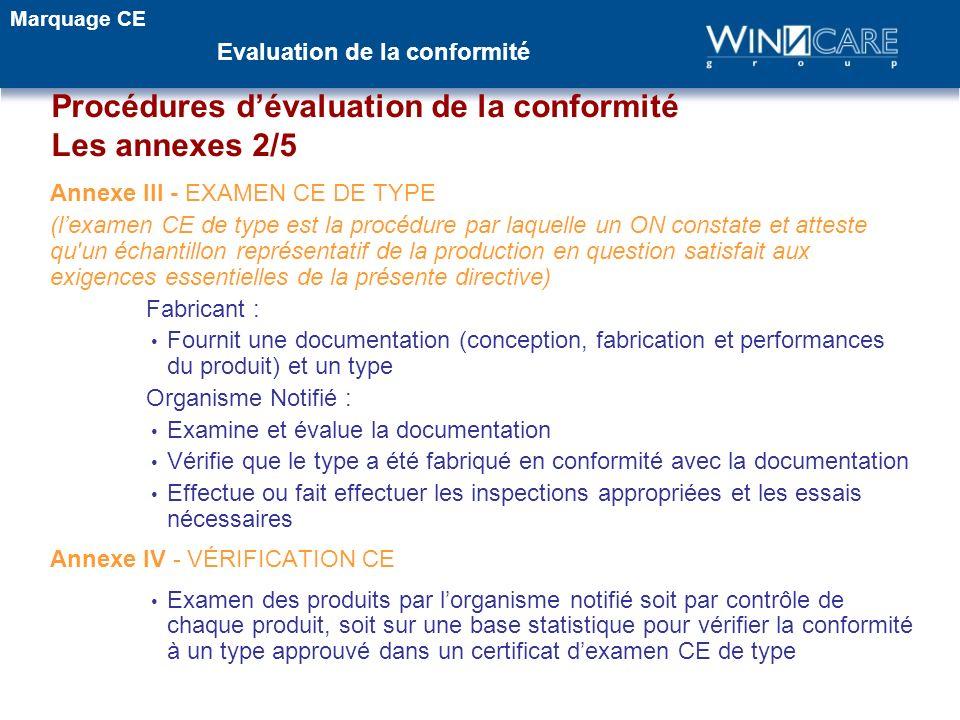 Annexe III - EXAMEN CE DE TYPE (lexamen CE de type est la procédure par laquelle un ON constate et atteste qu'un échantillon représentatif de la produ