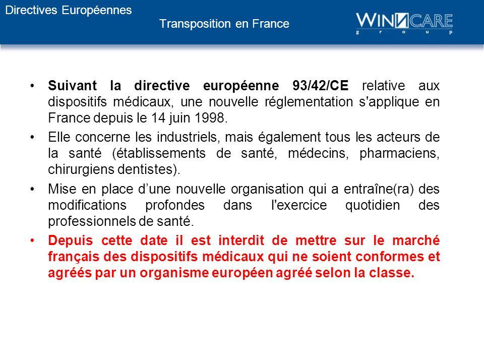 LE MARQUAGE CE DIRECTIVE EUROPEENNE 2007/47/CE