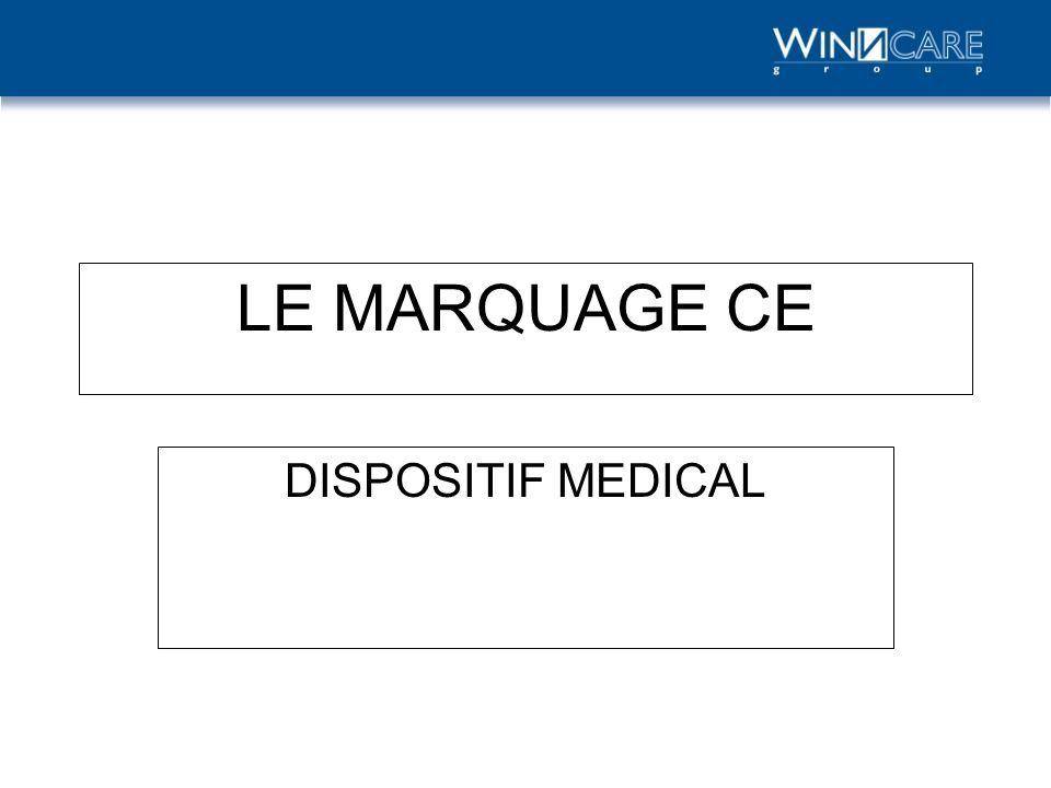 Organisme Notifié 1/2 Organisme(s) désigné(s) et surveillé(s) par lautorité compétente dun état membre Doivent répondre aux critères de lannexe 8 de la directive 90/385/CE pour être notifié pour les dispositifs médicaux implantables acitifs (DMIA) et aux critères de lannexe 11 de la directive 93/42 modifiée pour les autres dispositifs médicaux Un fabricant fait appel à lorganisme notifié de son choix Lorganisme notifié français pour les DM et DMIA : Le GMED-LNE (n° didentification = 0459) Organisme notifié Marquage CE