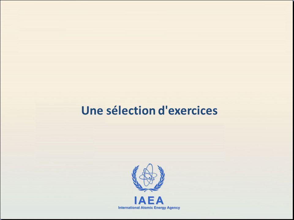 Une sélection d exercices