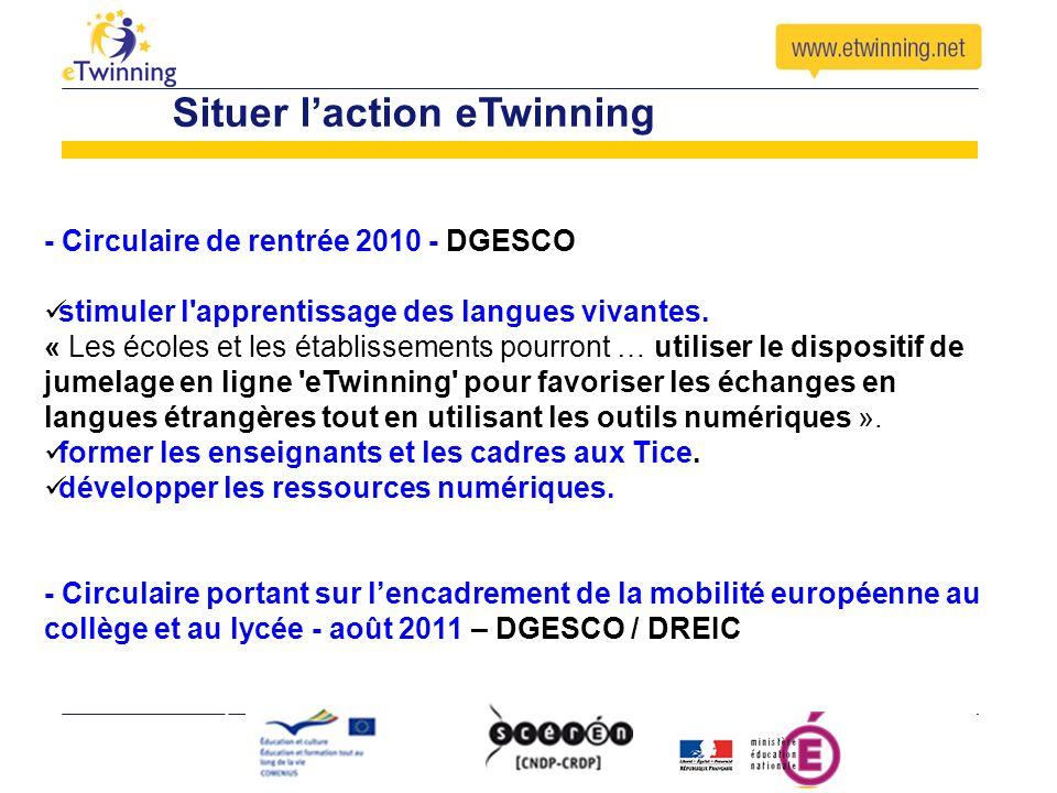 Dispositif en ligne Les outils eTwinning