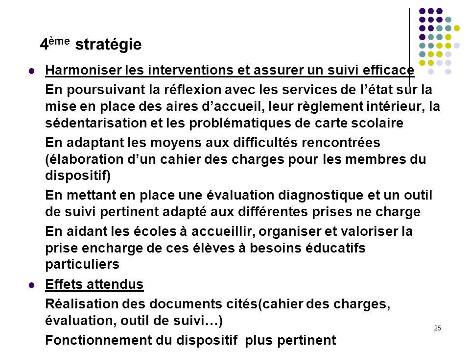 25 Harmoniser les interventions et assurer un suivi efficace En poursuivant la réflexion avec les services de létat sur la mise en place des aires dac