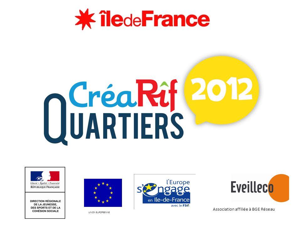 UNION EUROPEENNE Association affiliée à BGE Réseau