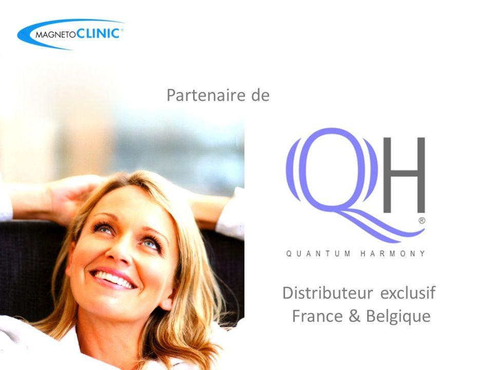 Distributeur exclusif France & Belgique Partenaire de