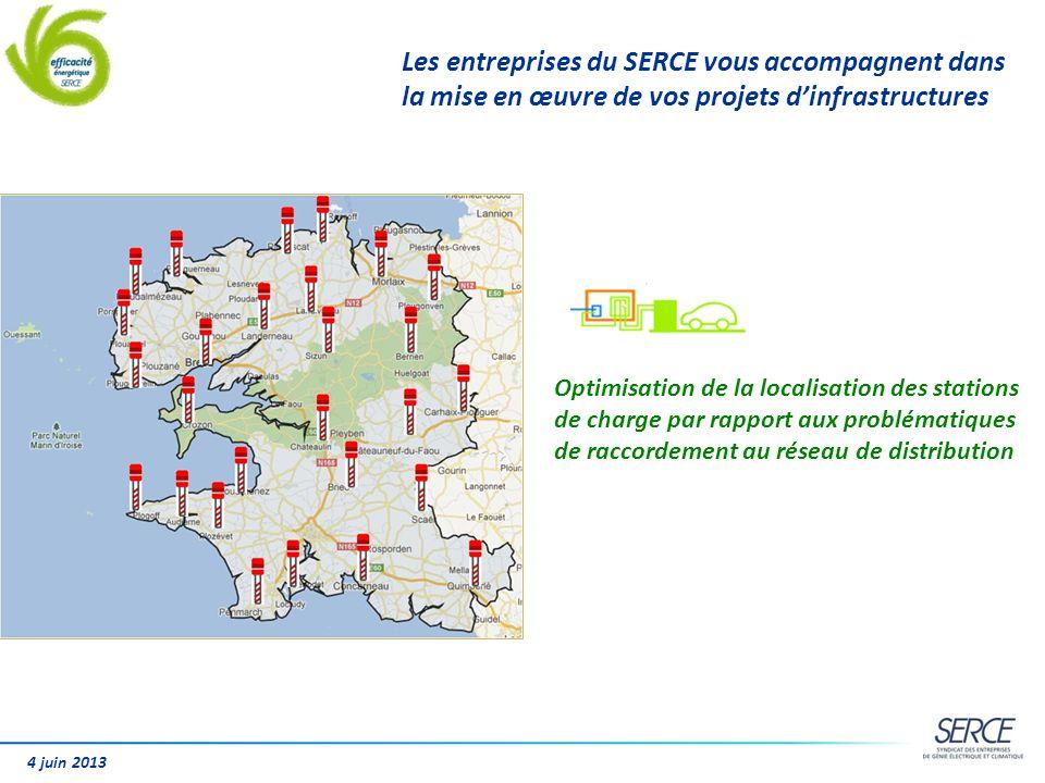 4 juin 2013 Les entreprises du SERCE vous accompagnent dans la mise en œuvre de vos projets dinfrastructures Optimisation de la localisation des stati