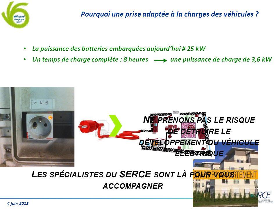 4 juin 2013 Pourquoi une prise adaptée à la charges des véhicules ? N E PRENONS PAS LE RISQUE DE DÉTRUIRE LE DÉVELOPPEMENT DU VÉHICULE ÉLECTRIQUE L ES