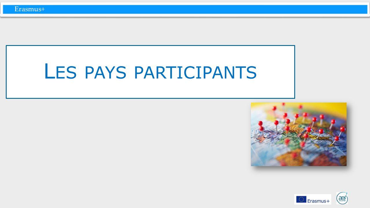 Erasmus+ L ES PAYS PARTICIPANTS