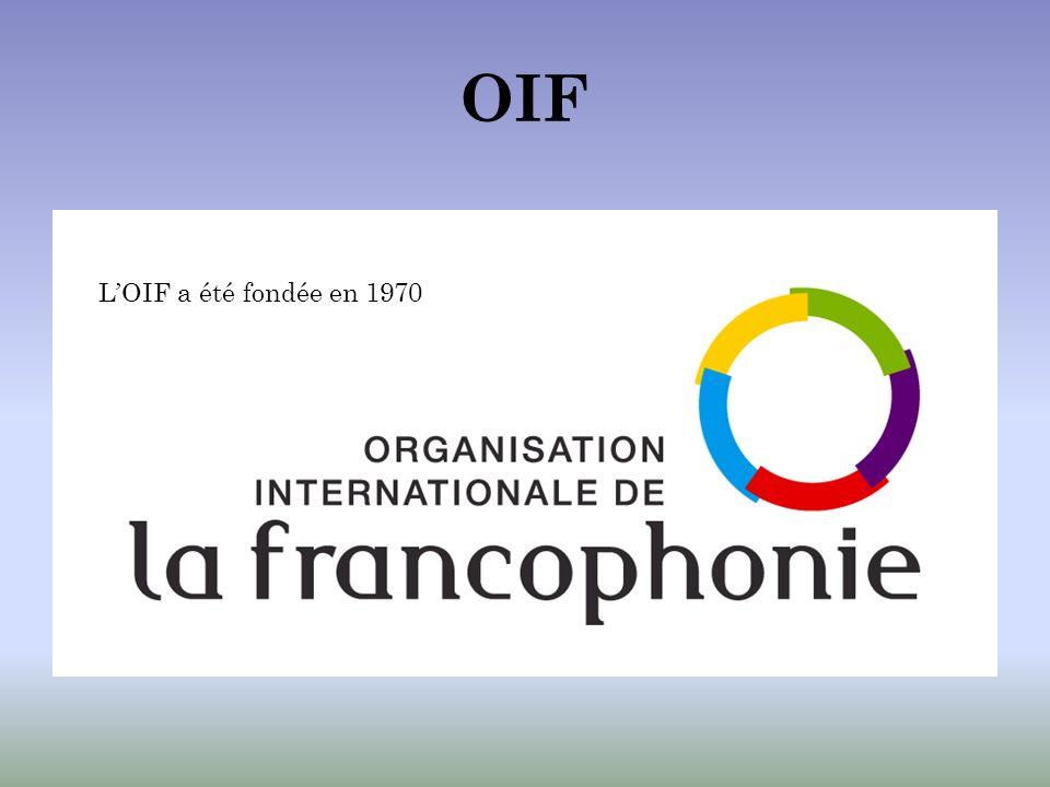 OIF LOIF a été fondée en 1970