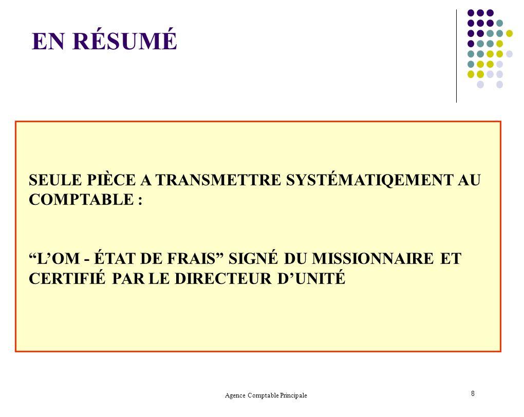 Agence Comptable Principale 19 2.