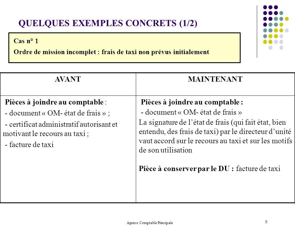 Agence Comptable Principale 20 3.
