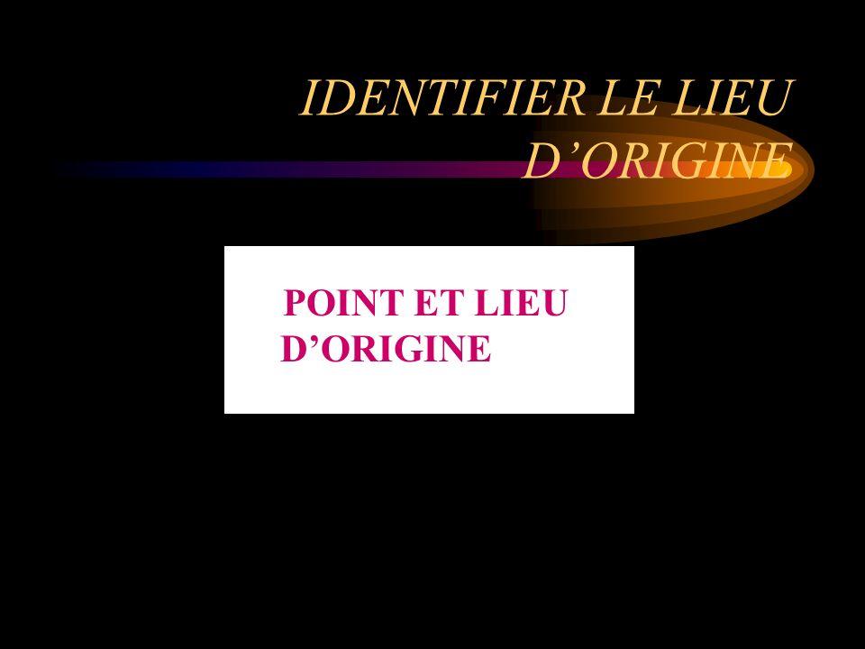 IDENTIFIER LA FORME ET LORIGINE DE LA CHALEUR QUI A PRODUIT LINFLAMMATION FORME ET ORIGINE DE LA CHALEUR