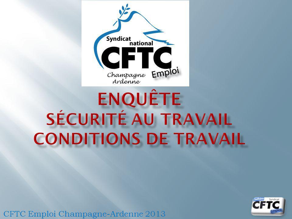 CFTC Emploi Champagne-Ardenne 2013