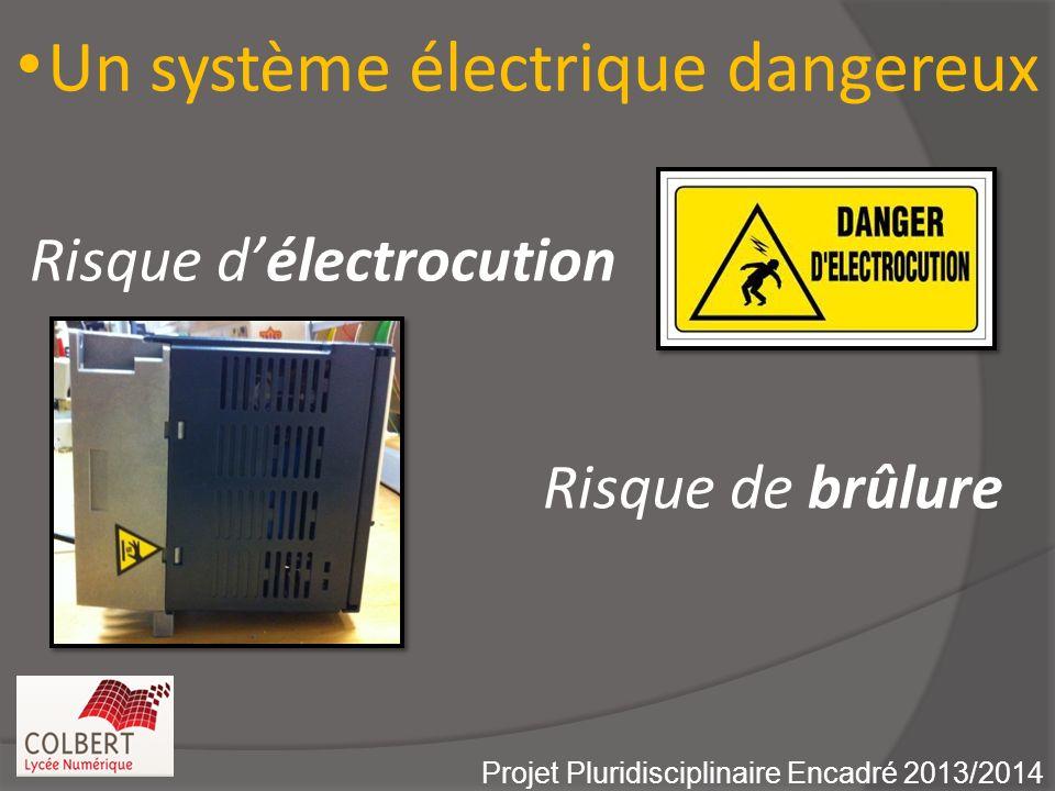 Un dispositif de projection dangereux Projet Pluridisciplinaire Encadré 2013/2014 Vitesse de la raquette