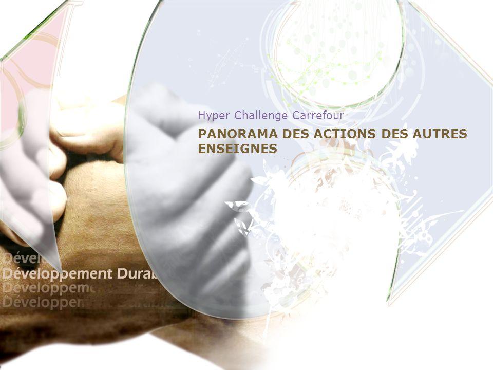 PANORAMA DES ACTIONS DES AUTRES ENSEIGNES Hyper Challenge Carrefour 11