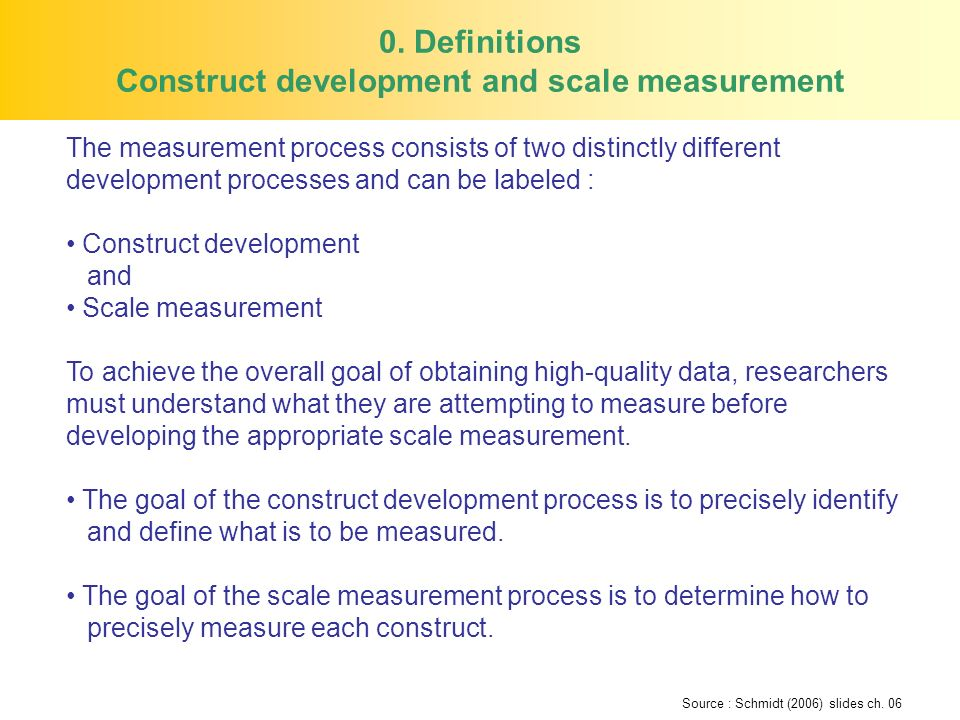 Researchers must determine measurement error, which is the difference between the information sought and the information actually obtained in the measurement process.
