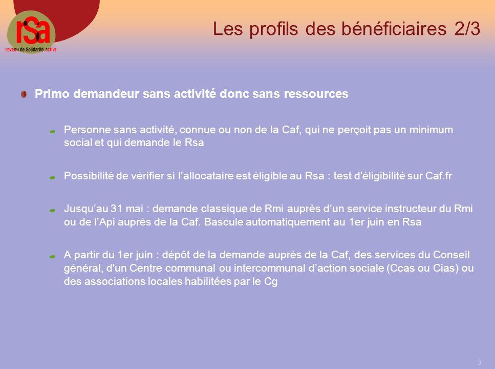 24 Situation professionnelle du demandeur 3/4 Pour les activités non salariées (travailleurs indépendants, professions libérales) le message suivant saffiche.