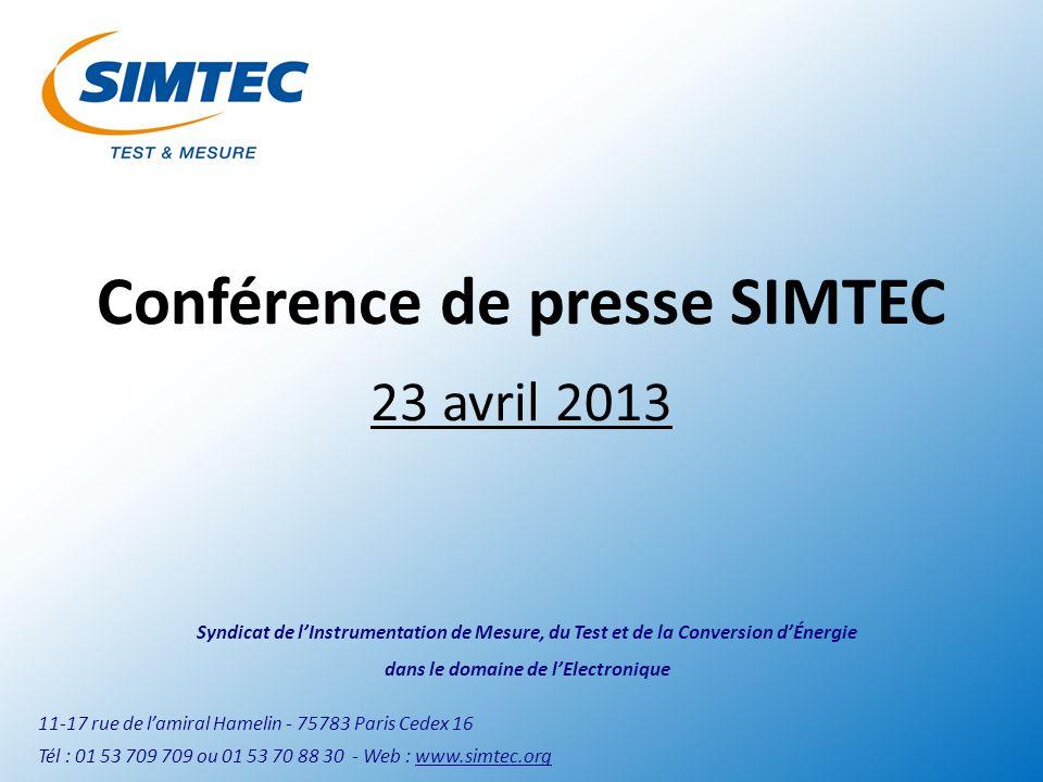 La conjoncture française et lindustrie électronique