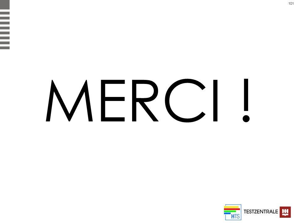 101 MERCI !