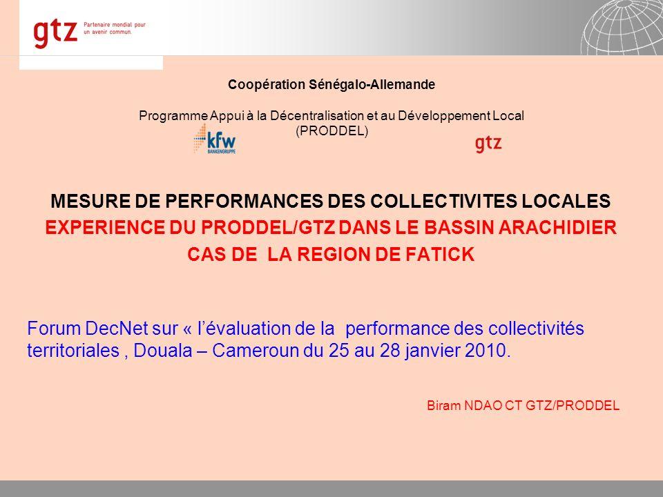 02.05.2014 Seite 1 Page 1 02.05.2014 Seite 1 Coopération Sénégalo-Allemande Programme Appui à la Décentralisation et au Développement Local (PRODDEL)