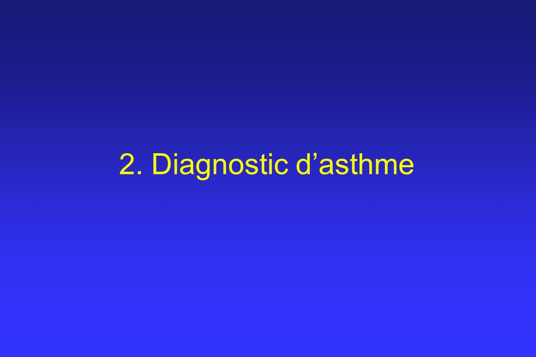2. Diagnostic dasthme