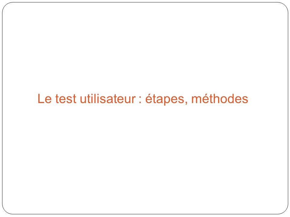 Le test utilisateur : étapes, méthodes