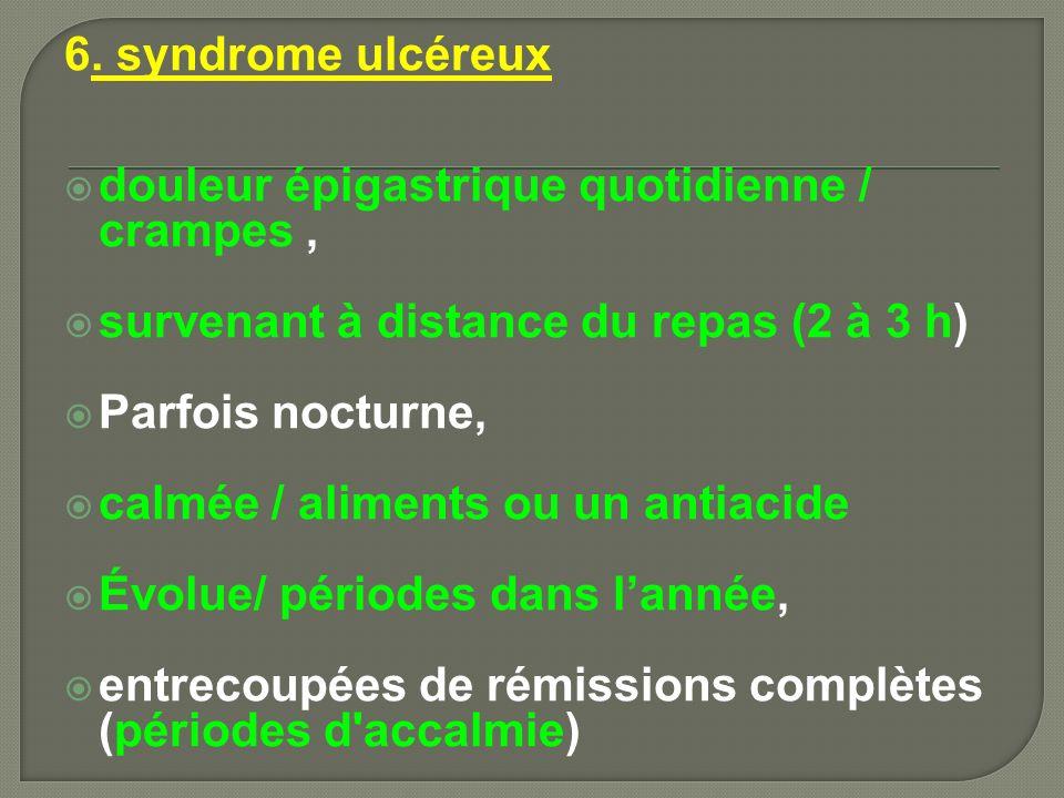7.Anat path La maladie ulcéreuse: Altération profonde d une zone limitée de la muqse G.