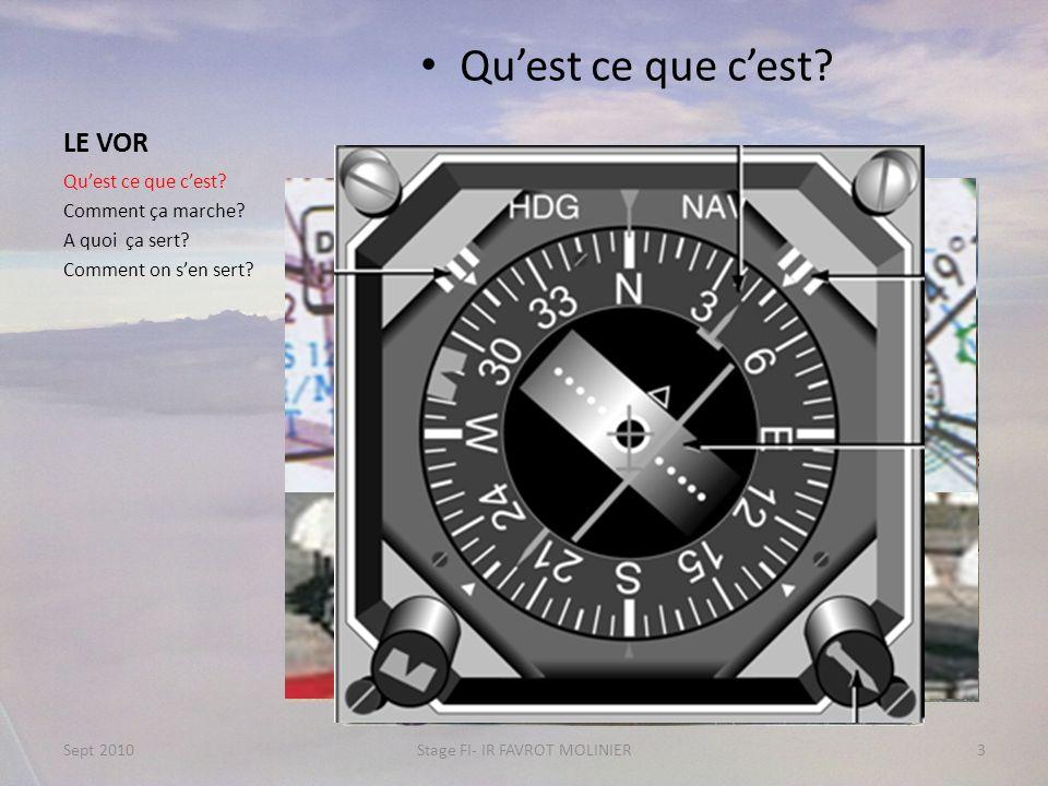 Le VOR Navigation entre 2 VOR Quest ce que cest.Comment ça marche.
