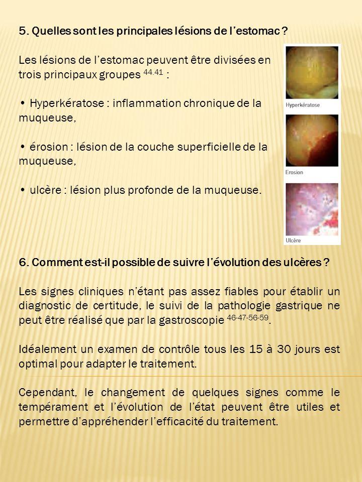 3. Pourquoi les ulcères sont-ils sous diagnostiqués ? Si lEGUS est de plus en plus reconnu comme une entité médicale à part entière par les vétérinair