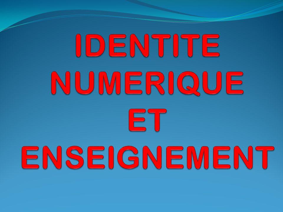 DEFINITIONS: L identité numérique peut être définie comme un lien technologique entre une entité réelle (la personne) et une entité virtuelle (sa ou ses représentation(s) numériques).
