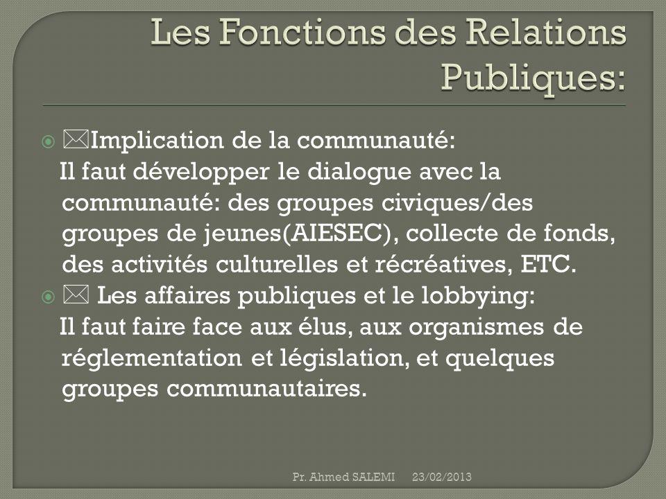 Implication de la communauté: Il faut développer le dialogue avec la communauté: des groupes civiques/des groupes de jeunes(AIESEC), collecte de fonds