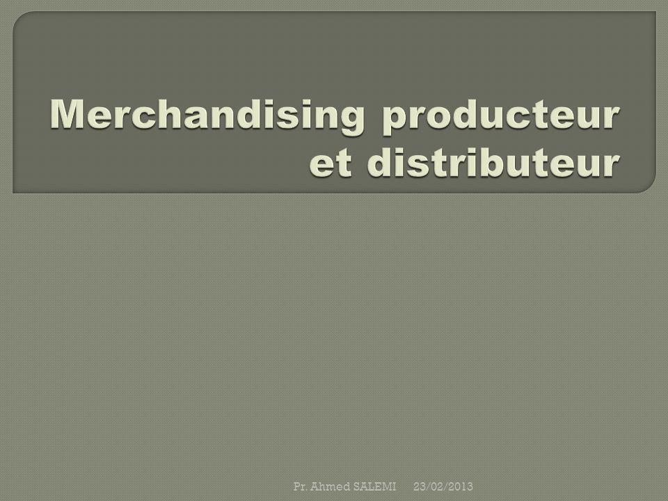 Laction dun fournisseur consiste à vendre ses produits à des commerçants : les distributeurs, qui les revendront au consommateur final.