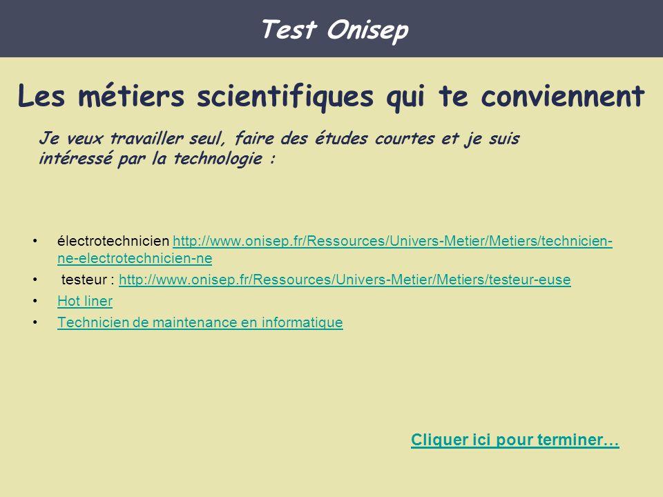 électrotechnicien http://www.onisep.fr/Ressources/Univers-Metier/Metiers/technicien- ne-electrotechnicien-nehttp://www.onisep.fr/Ressources/Univers-Me
