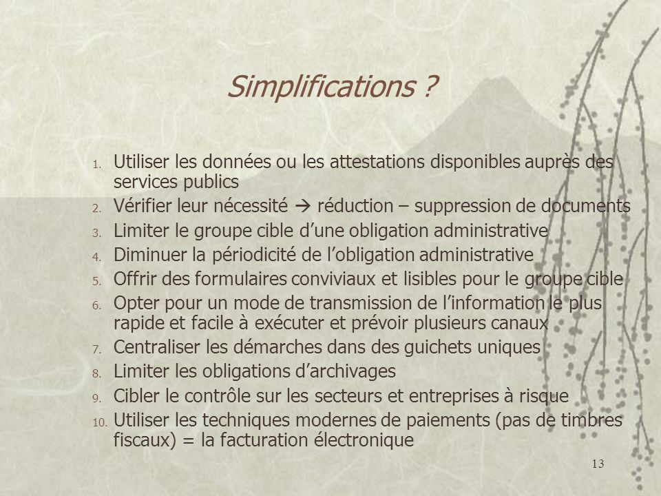 13 Simplifications .1.