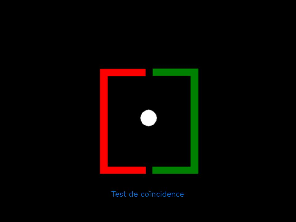 Test de coïncidence